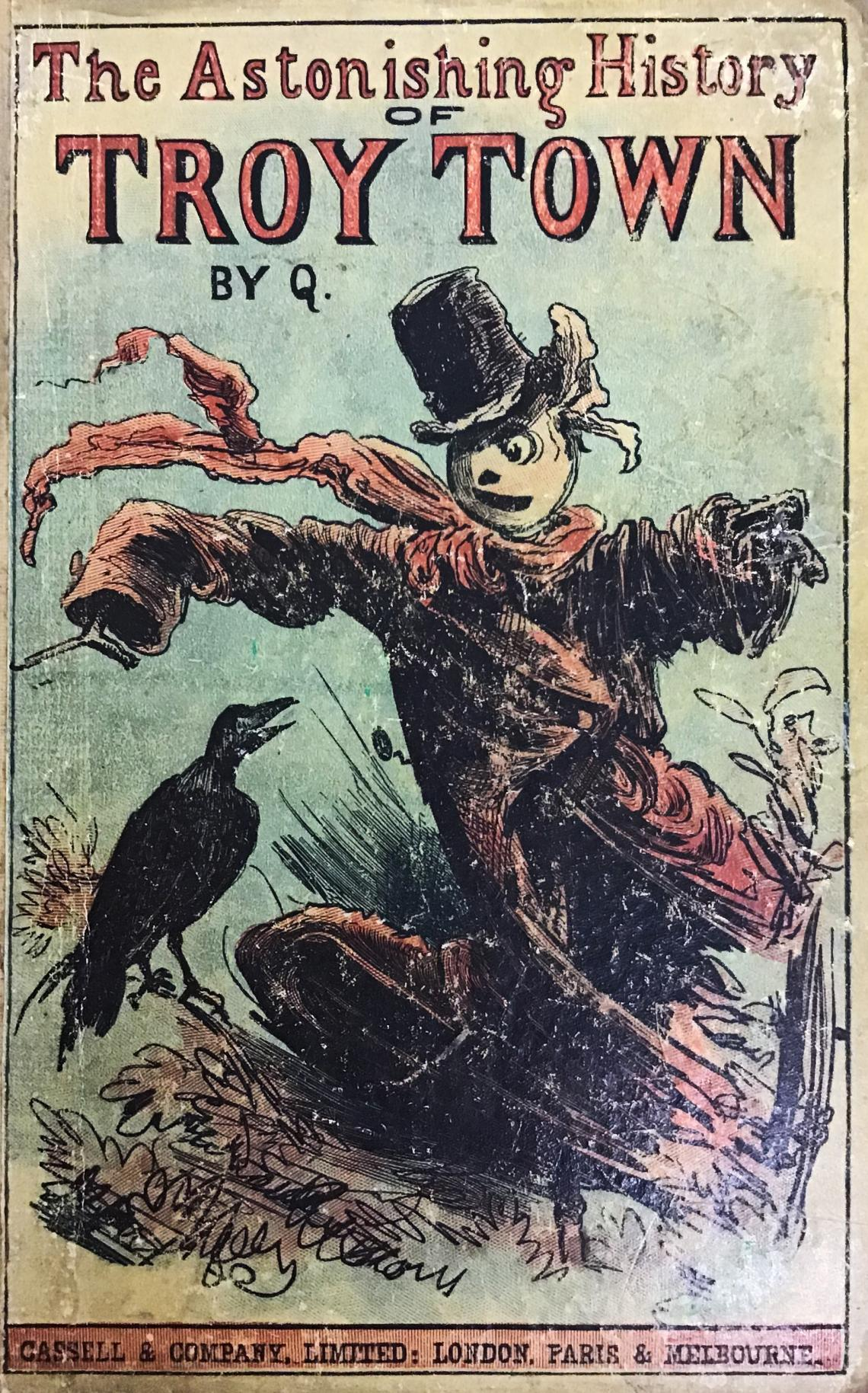 Troy Town cover showing scarecrow