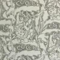 small section of endpaper from book