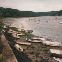 view of the Fowey river